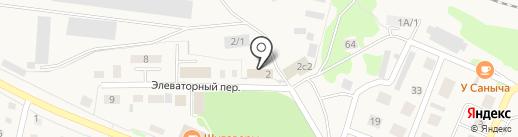 Заводоуковский элеватор на карте Заводоуковска