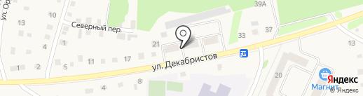 Продуктовый магазин на ул. Декабристов на карте Заводоуковска
