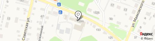 Стаксель плюс на карте Заводоуковска