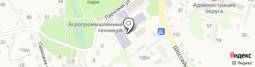 Заводоуковский агропромышленный техникум на карте Заводоуковска