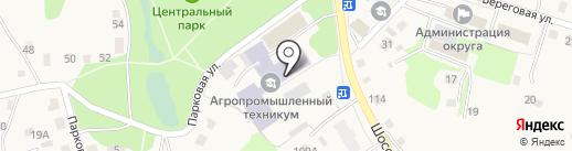 Автошкола на карте Заводоуковска