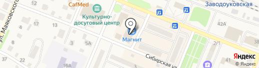 Альтаир-групп на карте Заводоуковска