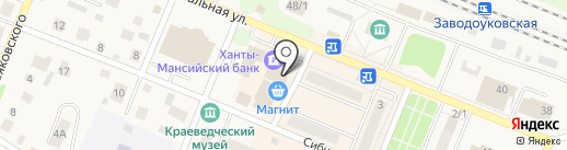 МТС на карте Заводоуковска