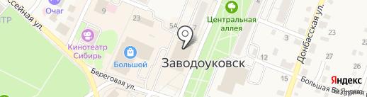 Баловень на карте Заводоуковска
