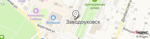 Флора на карте Заводоуковска