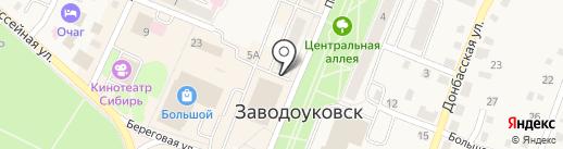 Девайс на карте Заводоуковска