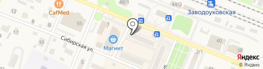 Управление вневедомственной охраны управления министерства внутренних дел Российской Федерации по Тюменской области, ФГКУ на карте Заводоуковска
