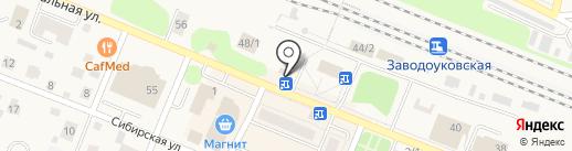 Джинсы+ на карте Заводоуковска