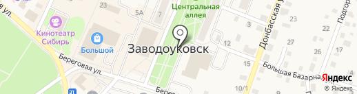 Киоск по продаже фастфудной продукции на карте Заводоуковска