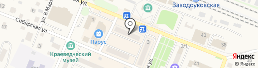 Новый дом на карте Заводоуковска