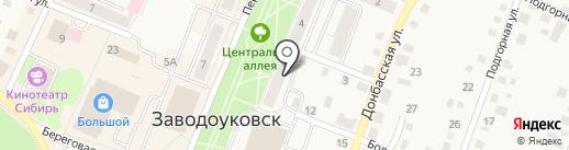 Доктор Дент на карте Заводоуковска