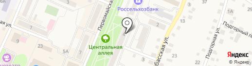 Нуга Бест на карте Заводоуковска