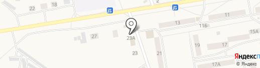 Гараж на карте Заводоуковска