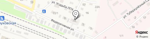 Управление Федерального казначейства по Тюменской области на карте Заводоуковска