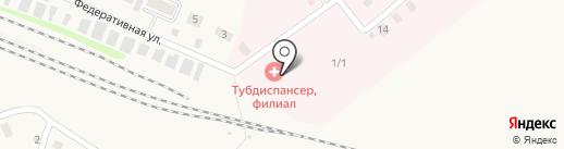 Заводоуковская туберкулезная больница на карте Заводоуковска