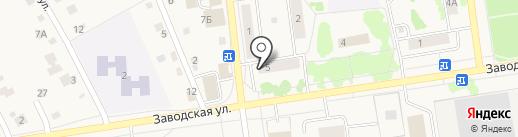 Почтовое отделение №4 на карте Заводоуковска