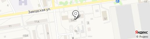Заводоуковская межрайонная прокуратура на карте Заводоуковска