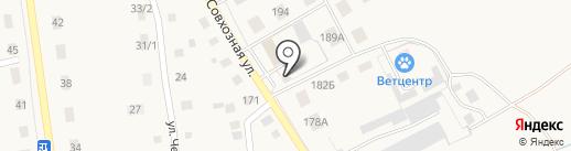 УАЗ на карте Заводоуковска