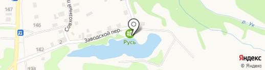 Русь на карте Заводоуковска