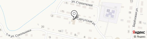 Зоря на карте Заводоуковска
