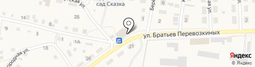 Эскада на карте Заводоуковска