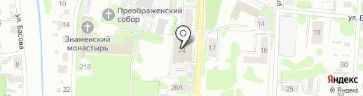 Пекарня на карте Тобольска
