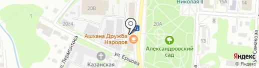 Банкомат, Сбербанк, ПАО на карте Тобольска
