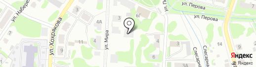 Мастерская по ремонту мебели на карте Тобольска