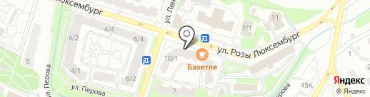 Сервер-Авто на карте Тобольска