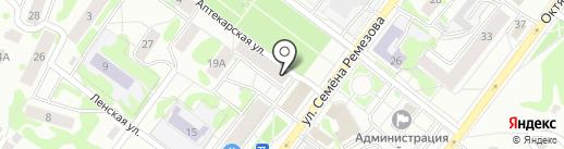 Компания по прокату свадебных украшений на автомобиль на карте Тобольска