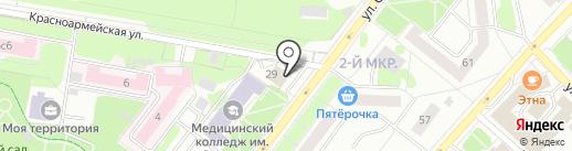 Ортопед+ на карте Тобольска