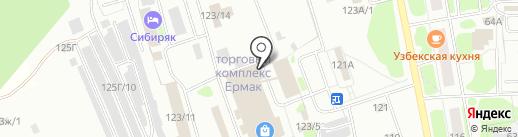 Магазин мебели на карте Тобольска