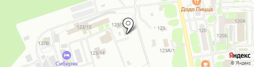 Авто+ на карте Тобольска
