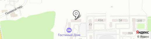 Гостиный дом на карте Тобольска
