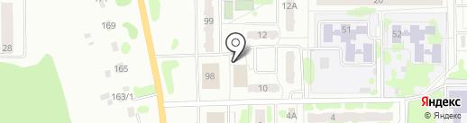 Магазин автомасел на карте Тобольска