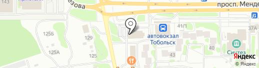 Сбербанк России на карте Тобольска