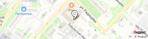 Сфера-Байт на карте Тобольска
