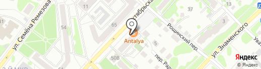 Пиръ Маркет на карте Тобольска