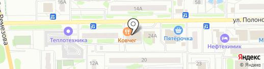 YOAKE на карте Тобольска