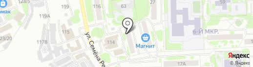 Центр сервиса на карте Тобольска