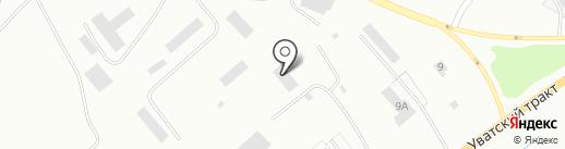 Складской комплекс на карте Тобольска