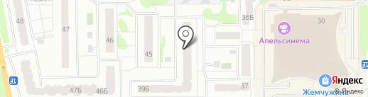 Лифт-модерн на карте Тобольска