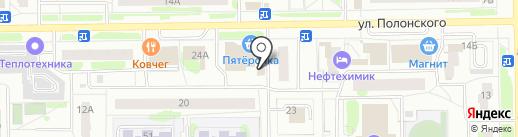 Магазин по продаже шаурмы на карте Тобольска