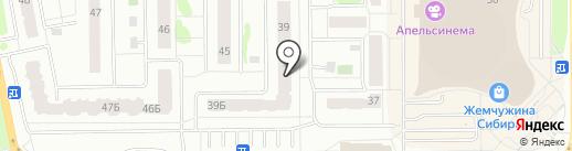 Лифт модерн на карте Тобольска