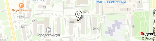 РЕГИОН-СЕРВИС на карте Тобольска