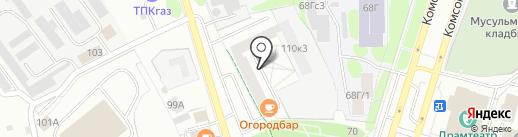 Fusion на карте Тобольска