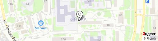 Библиотека №1 на карте Тобольска