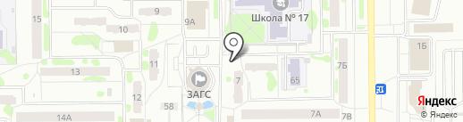 Макси пицца на карте Тобольска