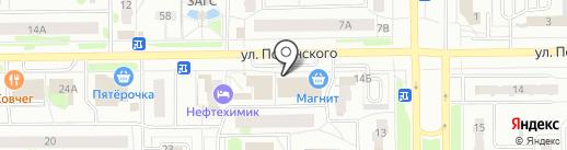 Ключ-сервис на карте Тобольска