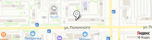 Электро city на карте Тобольска